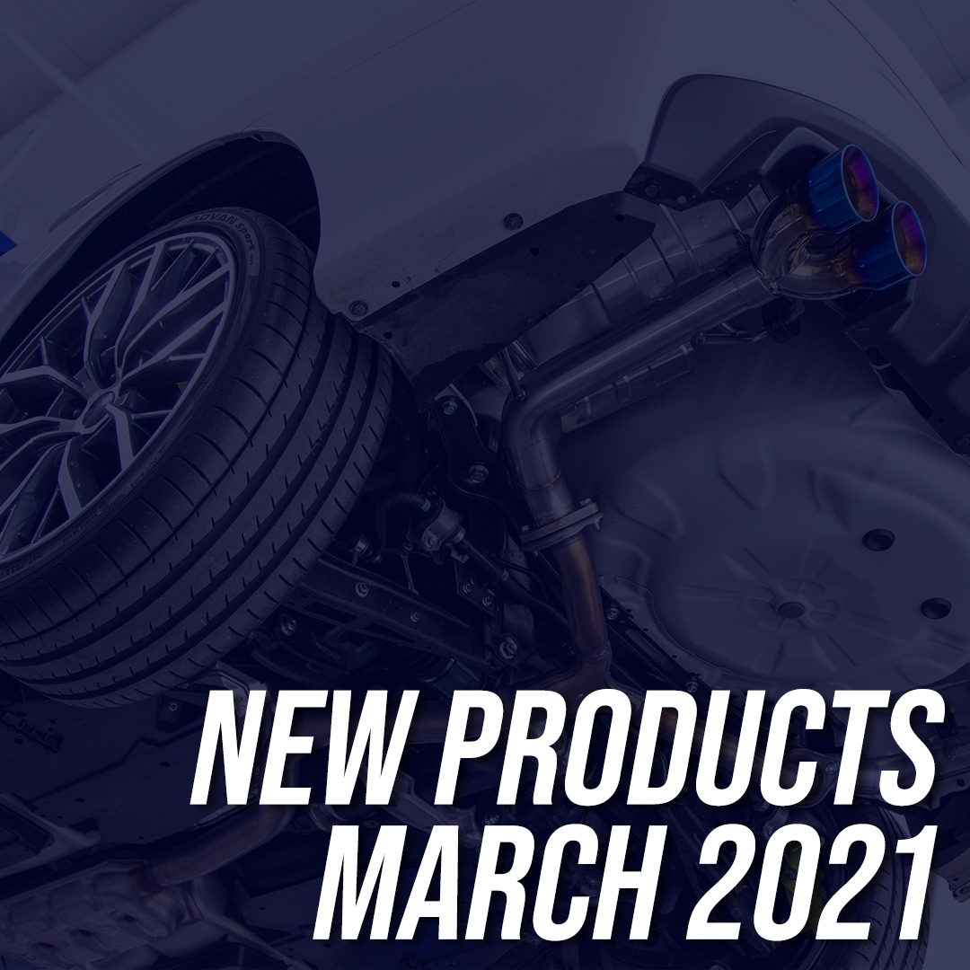 New Products March 2021 Subispeed