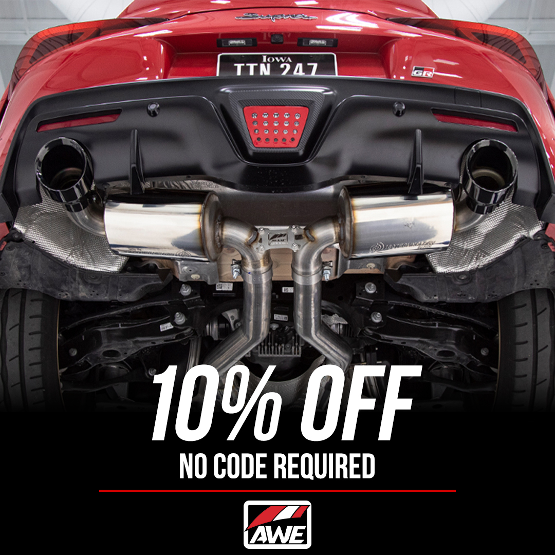 FTspeed AWE Exhaust parts and accessories 10% off no code required!