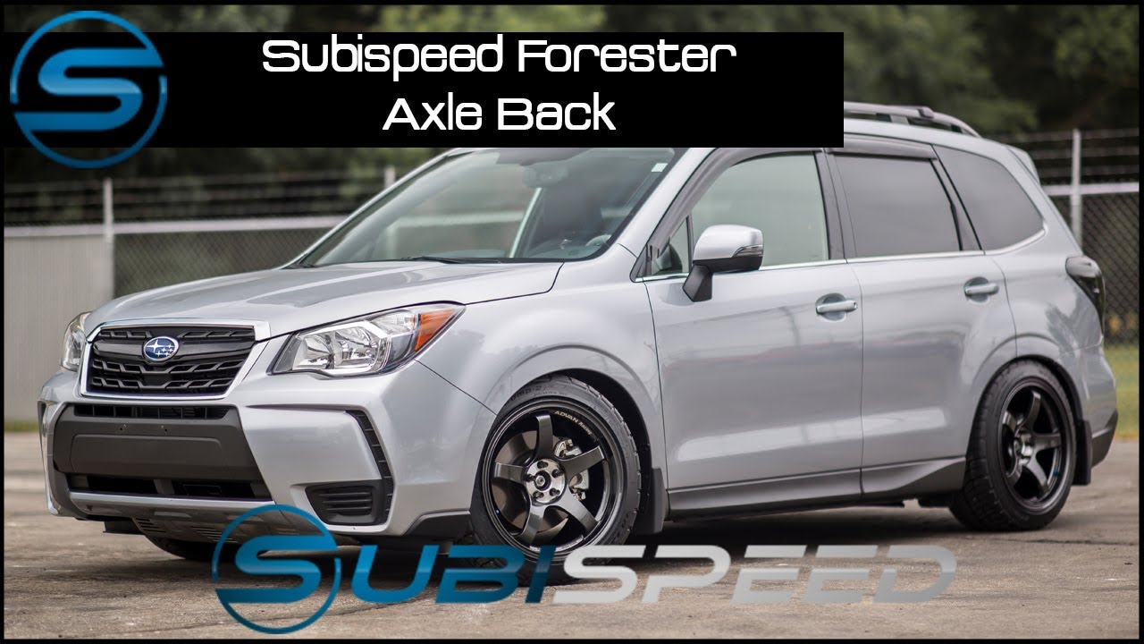 Subispeed - 2014+ Forester Axle Back