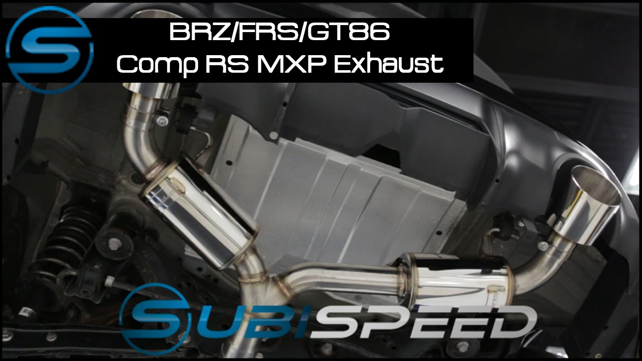 Subispeed - BRZ/FRS/GT86 MXP Comp RS Exhaust System