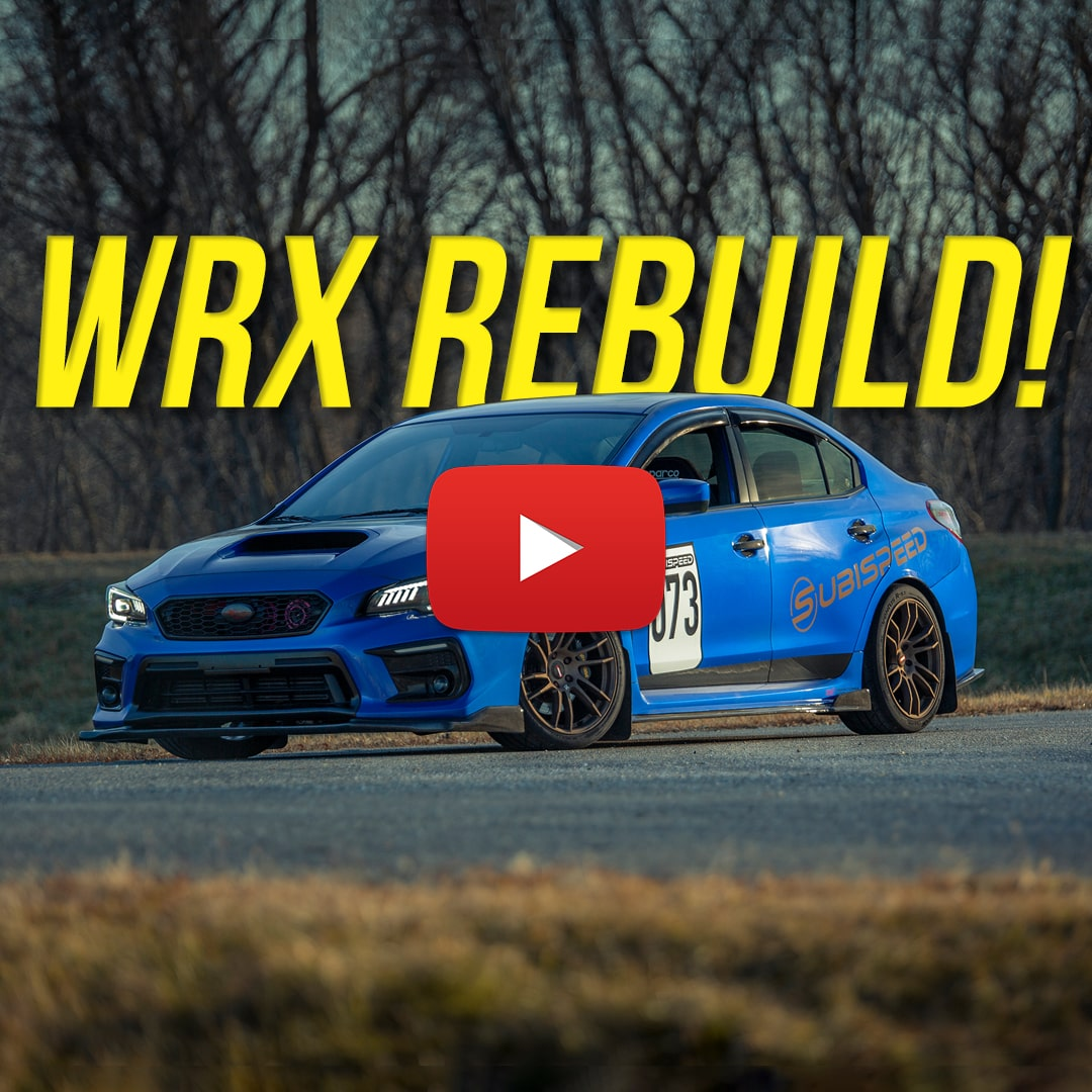 Subispeed 2015 Subaru WRX Rebuild Series Episode 1