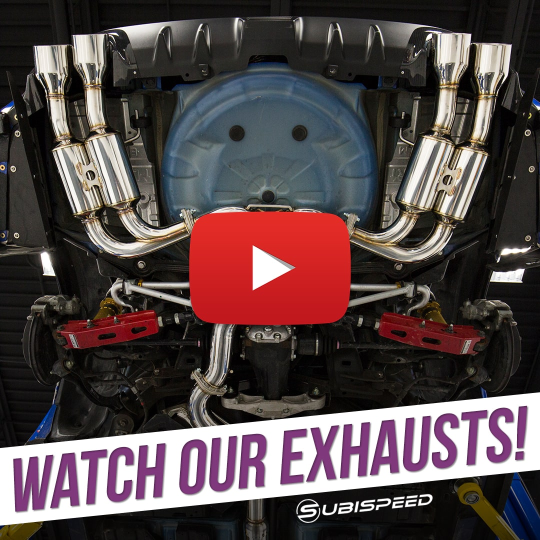 Subispeed watch our exhausts!!