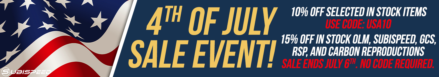 Save big on Suibispeeds annual 4th of july Day Sale! No code required!