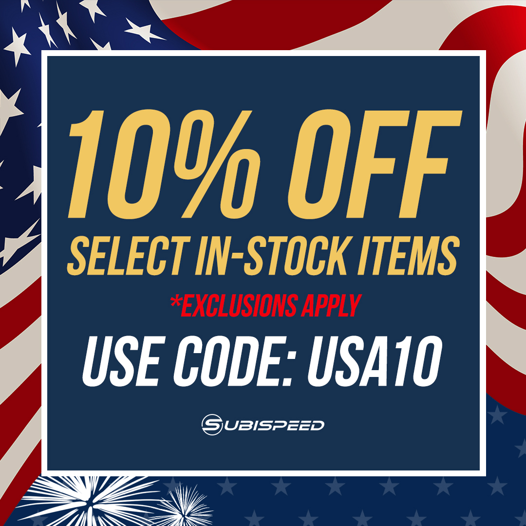 save 10% off in stock parts, exclusions do apply