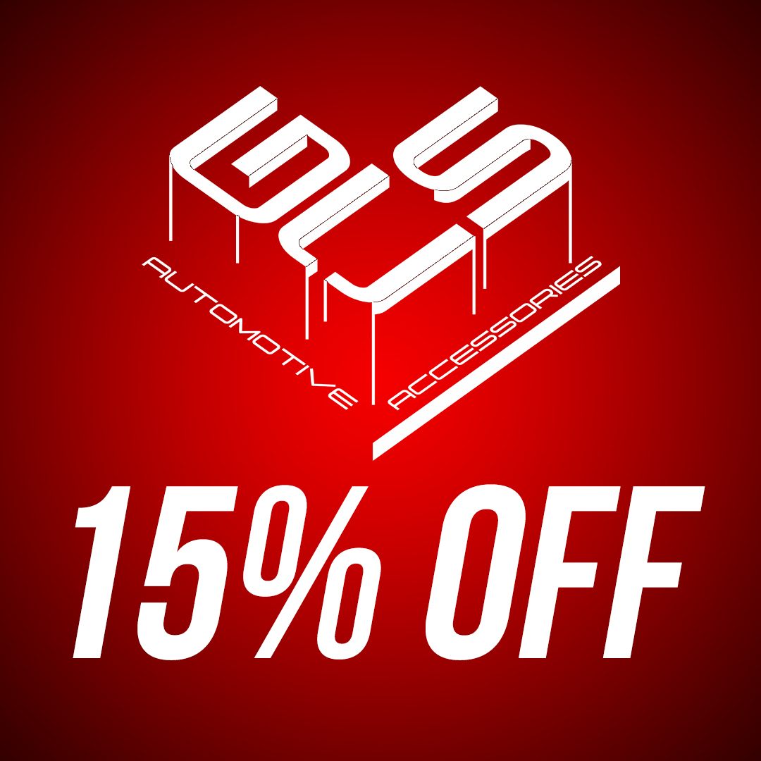 Save 15% off GCS aftermarket parts and accessories until September 7th!