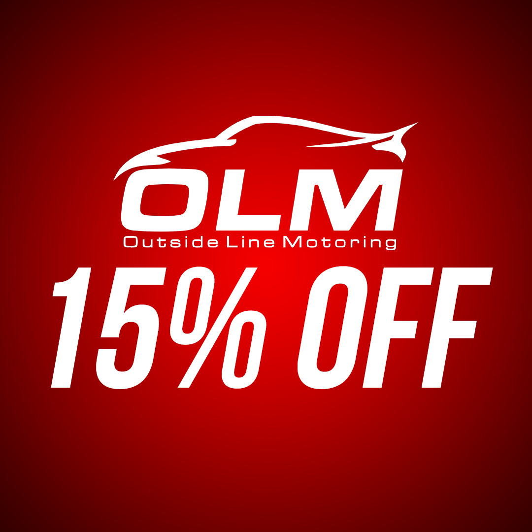 Save 15% off OLM aftermarket parts and accessories until September 7th!