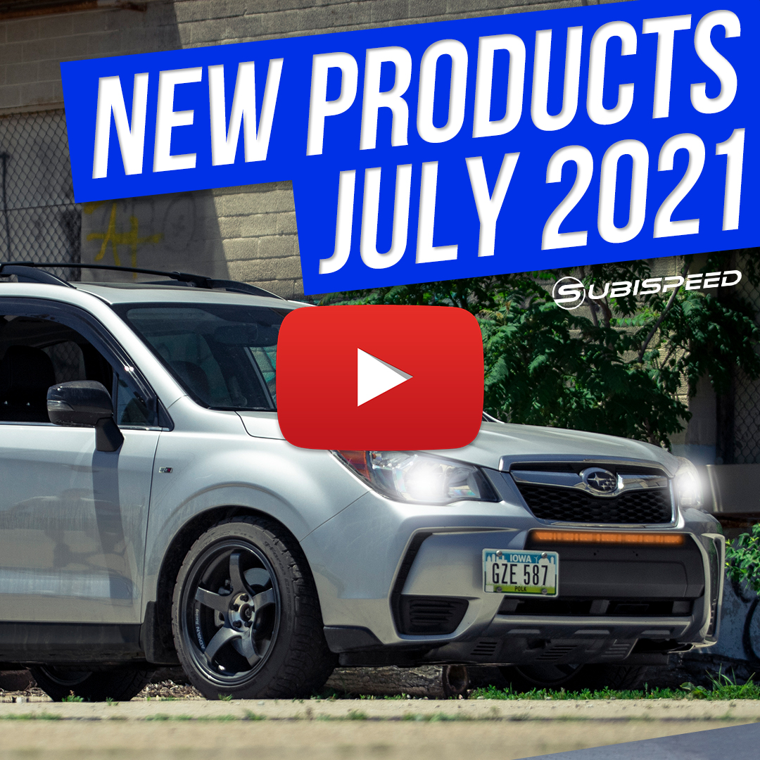 Watch Subispeeds New Products july 2021 Video for your WRX / STI / BRZ / Forester
