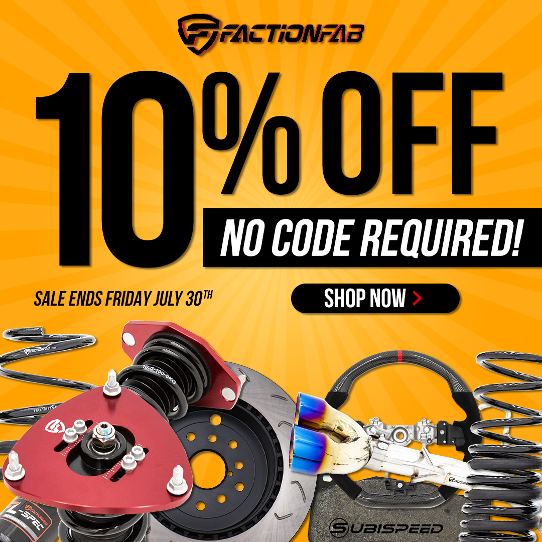 Save 10% off FactionFab for a limited time! No code required!