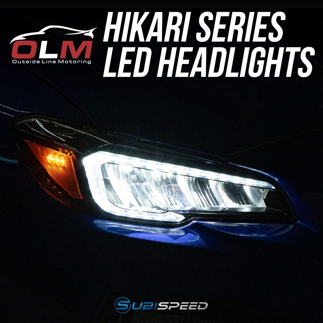 OLM HIKARI SERIES LED HEADLIGHTS 2015-2017 Subaru WRX & STI / 2018-2020 WRX Base & Premium