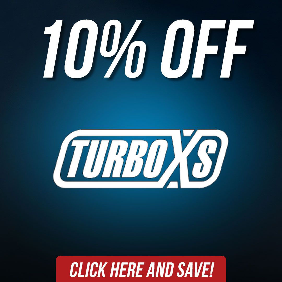 Save 10% off turboxs aftermarket parts and accessories until September 7th!