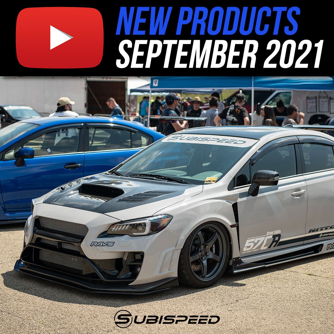 New products September Subispeed