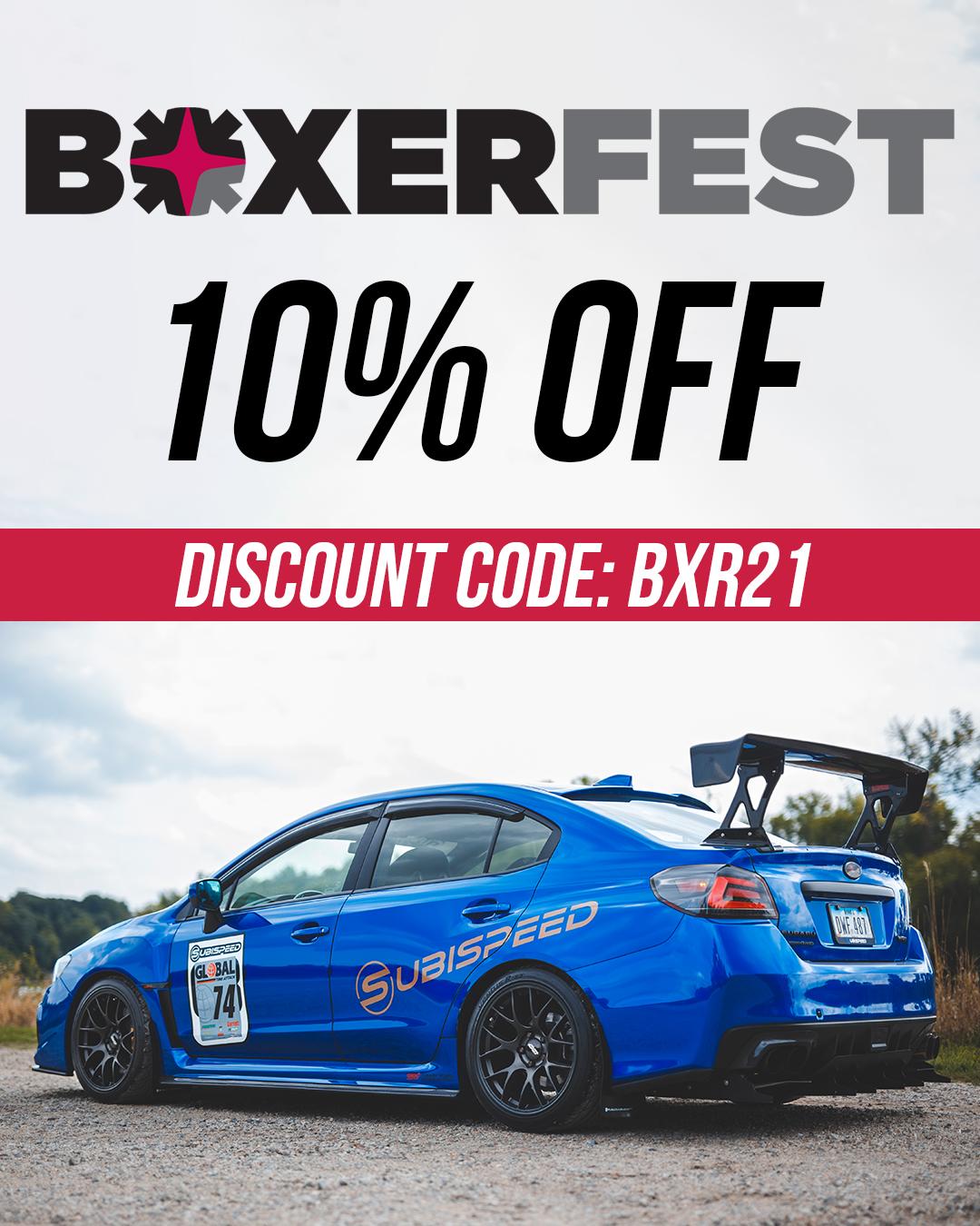 use code BXR21
